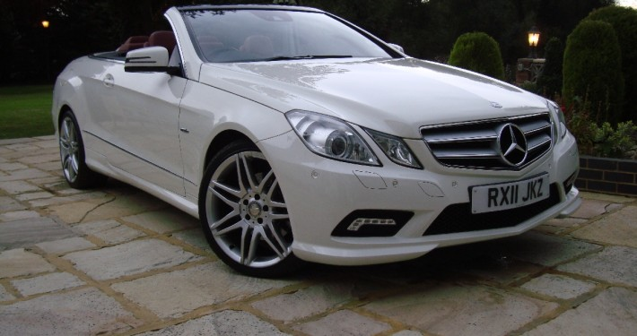 Mercedes-Benz E250 CDi BLUEEFFICIENCY Convertible 2011